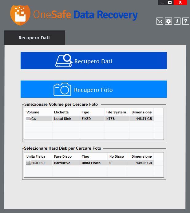 Restauración de datos