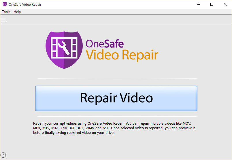 Video Repair | One Safe Data Recovery